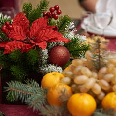 Поздравление с наступающим Новым годом и Рождеством!